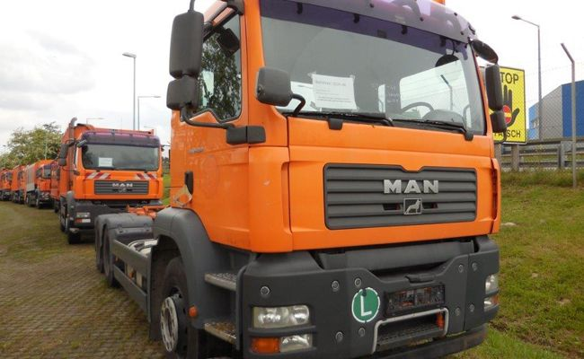 Gebrauchte Fahrzeuge und Geräte werden von der MA48 wieder zum Verkauf angeboten.
