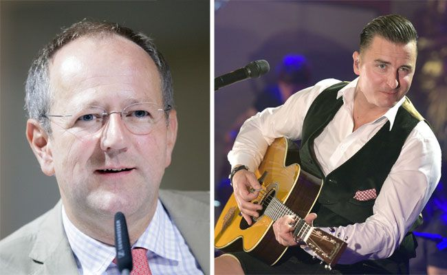 Konzerthaus-Intendant Matthias Naske vs. Volks-Rock'n'Roller Andreas Gabalier
