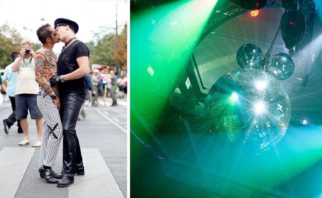 Ein homosexuelles Paar küsste sich im Wiener Volksgarten, wurde hinausgeworfen und attackiert
