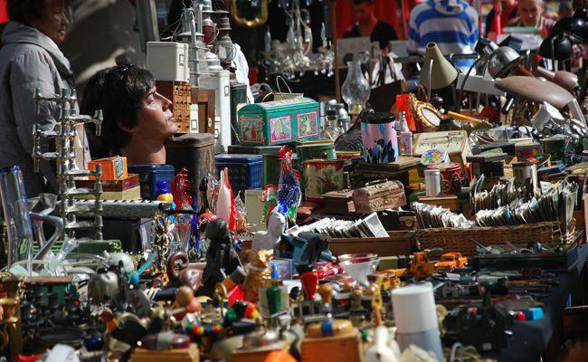 Der Flohmarkt in der Schallergasse findet indoor statt.