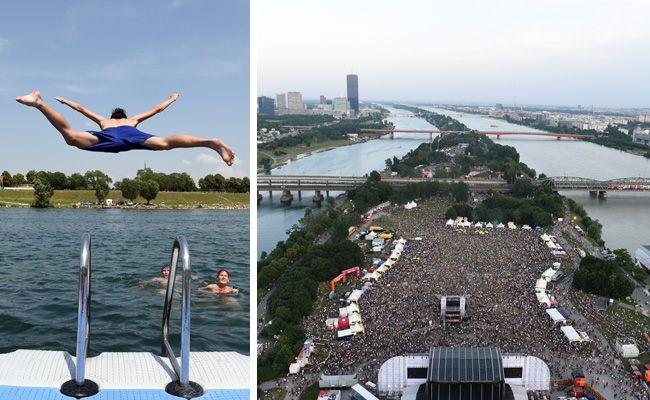 Auch Sportfans kommen beim Donauinselfest 2017 auf ihre Kosten.