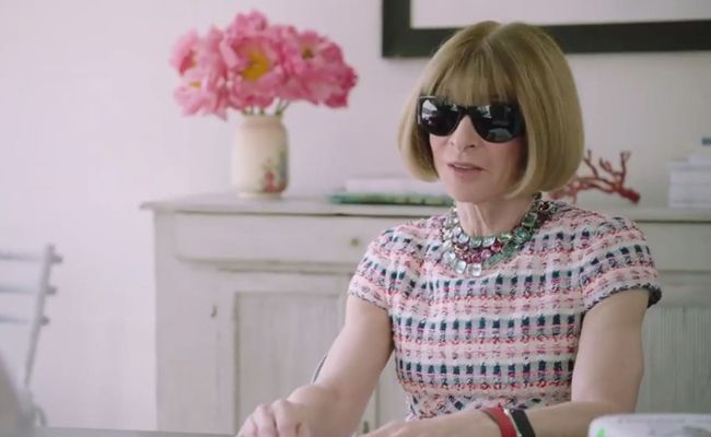 """Wintour is coming"": Vogue-Chefredakteurin Anna Wintour hat mit Comedian Amy Schumer den Job getauscht."