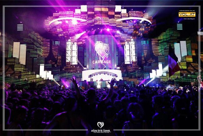 Das Electric Love Festival 2017 verzeichnete einen Besucherrekord.
