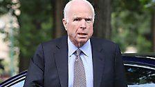 US-Senator John McCain an Gehirntumor erkrankt