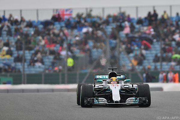 Lokalmatador Lewis Hamilton bewies sich