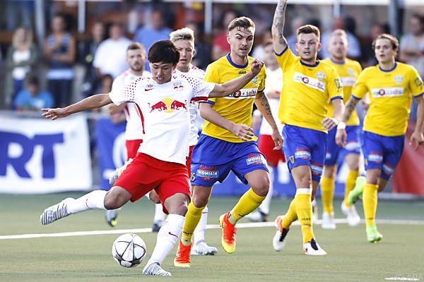 Salzburg siegte erneut mit 7:0