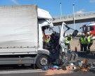 Lkw-Auffahrunfall auf der S2 forderte einen Schwerverletzten
