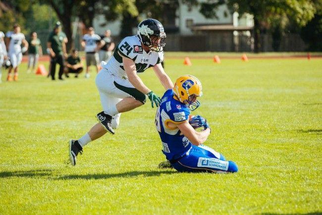 Die Danube Dragons ziehen ins Halbfinale der AFL ein.
