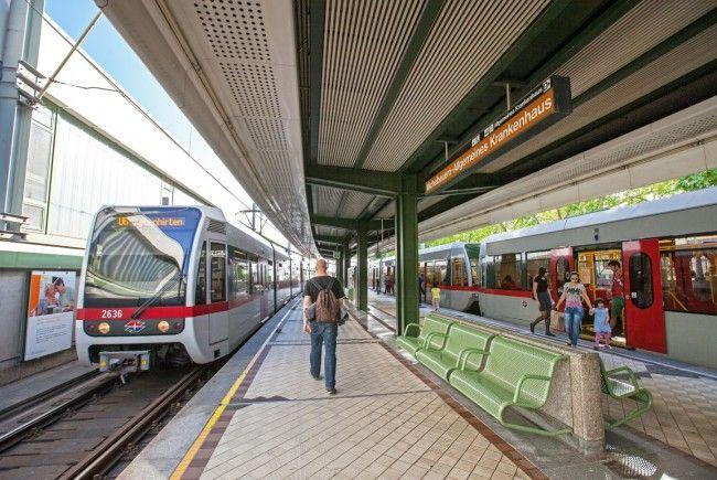 In der U6-Station Michelbeuern-AKH soll ein verdächtiger Gegenstand gefunden worden sein.