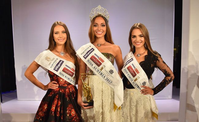 Die Gewinnerinnen der Miss Austria Wahl 2017.