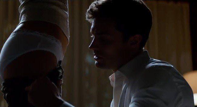 """Eine Szene aus dem Hollywood-Film """"50 Shades of Grey""""."""