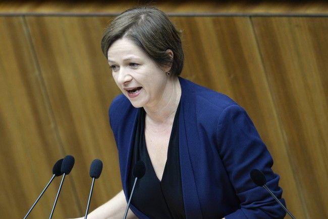 Die Grüne Sozialsprecherin Judith Schwentner.
