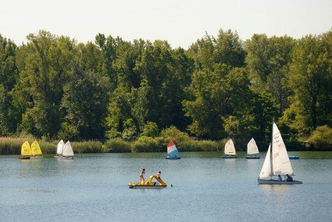 Die Alte Donau ist nicht umsonst bei Badenden höchst beliebt