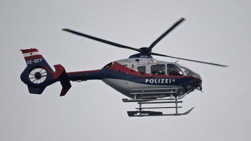 Mann blendete mit Laserpointer Polizeihubschrauber-Besatzung