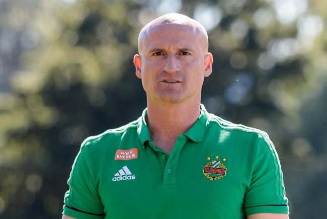 Goran Djuricin geht in seine erste volle Saison als Rapid-Trainer.