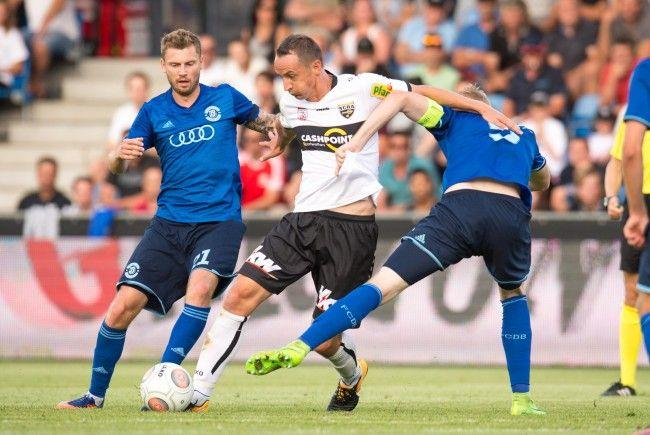 Hannes Aigner und Co. mussten sich mit einem 1:1 begnügen.
