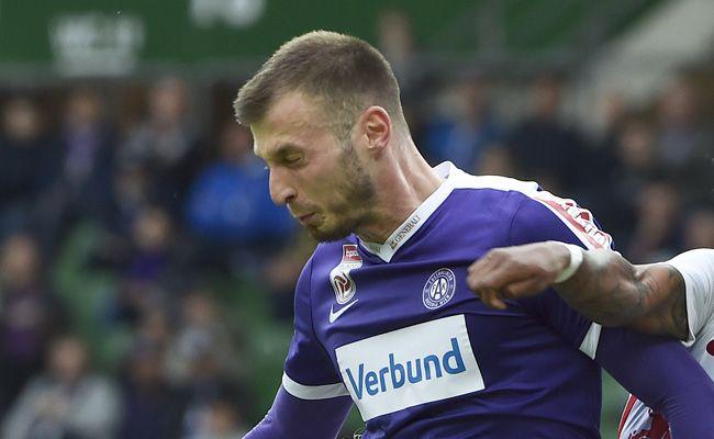 Petar Filipović erzielte gegen Zenit St. Petersburg das Austria-Tor.