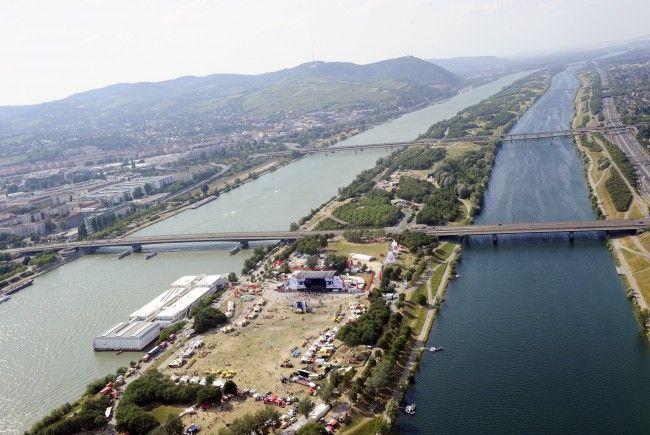 So kommen Sie rasch und stressfrei zur Beach-Volleyball-WM auf der Donauinsel.