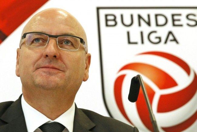 Bundesliga-Präsident Hans Rinner.