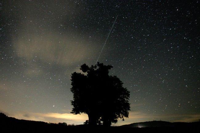 Der Sternschnuppenstrom der Perseiden ist heuer besser zu sehen als die letzten Jahre