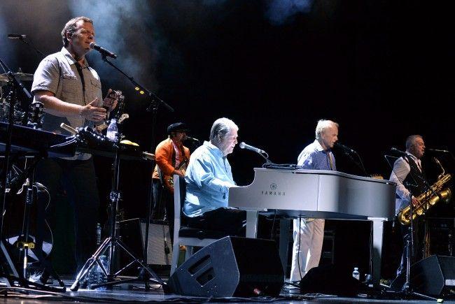Brian Wilson gab ein Konzert in der Wiener Stadthalle.