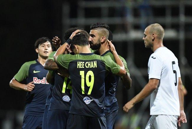 Red Bull Salzburg setzte sich im CL-Quali-Hinspiel in Malta mit 3:0 durch.