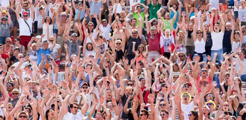 LIVE: Tag 2. der Beach Volleyball WM