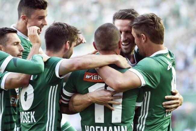Rapid Wien bittet am Mittwochnachmittag Apollon Limassol aus Zypern zum Test.