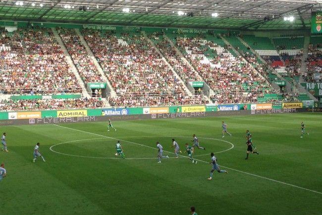 Rapid Wien testet am Sonntag gegen die AS Monaco.