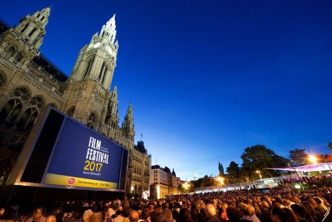 Bereits 75.000 Besucher verzeichnete das Film Festival am Rathausplatz in Wien.