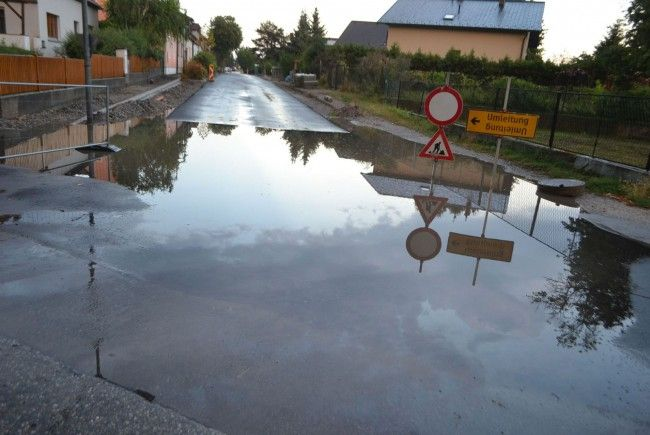 Schwere Unwetter in NÖ sorgten für Überschwemmungen