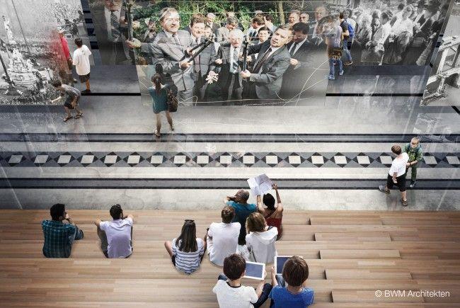 Die Wiener BWM Architekten werden die Realisierung des Hauses der Geschichte umsetzen.