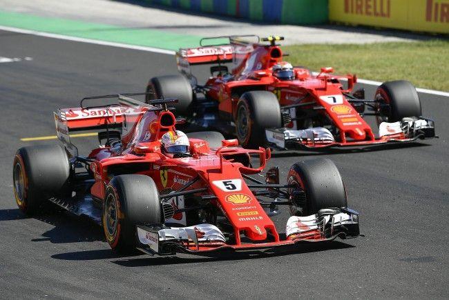 Vettel verwies Räikkönen auf Platz zwei.