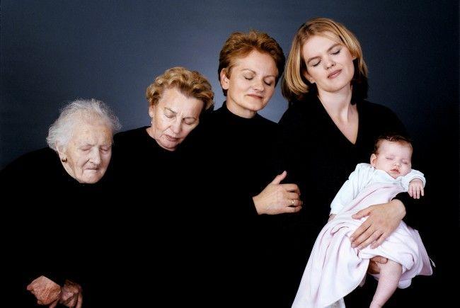 """""""5 Generationen"""": Dieses Bild ist im Rahmen der """"Menschenbilder"""" im Prater zu sehen"""