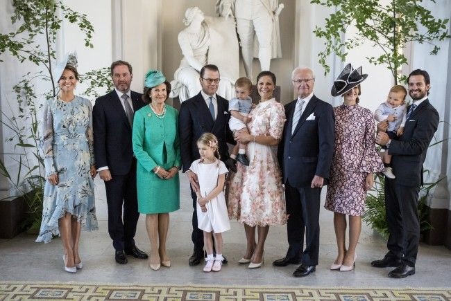 Die Royals bei Victorias 40. Geburtstag.