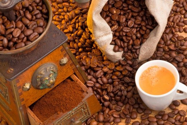 Der Tag des Kaffees wird eine Woche lang gefeiert.