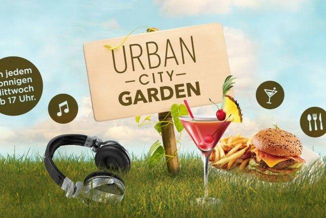 Gutes Essen, gute Stimmung, tolle Location: Der Urban City Garden im dritten Bezirk lädt zum Besuch ein