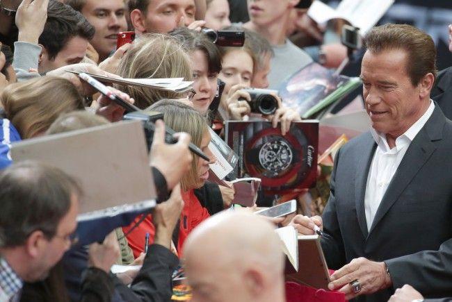 """Schwarzenegger und das Wort: Zitate von und über """"Arnie"""""""