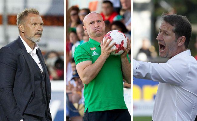 Vor Saisonstart stellten sich die Oberhaus-Coaches der traditionellen Trainer-Umfrage.