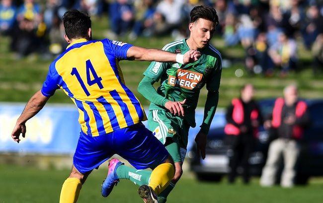 Dejan Ljubicic erhielt bei Rapid einen Profivertrag