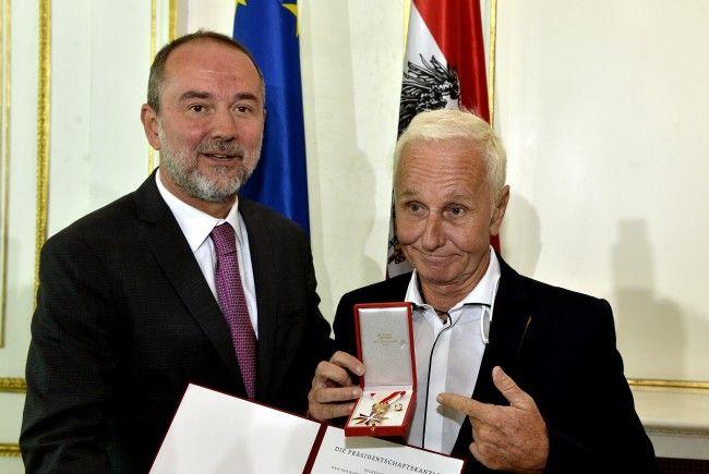 EAV-Sänger Klaus Eberhartinger wurde nun in Wien geehrt.