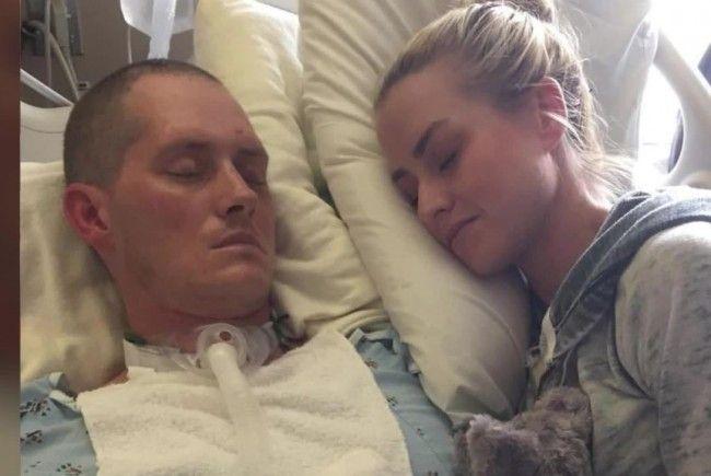 Jonathon und Laura: Tragischer Unfall mit Happy End.