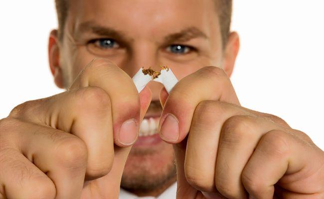 Wer hat mit Hilfe des Kaugummis Rauchen aufgegeben