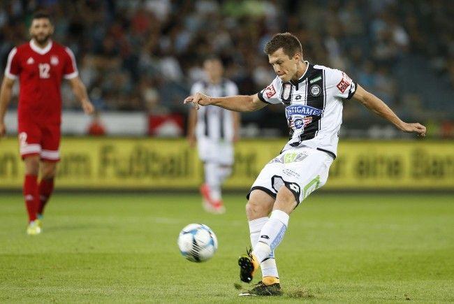 Sturm Graz sichert sich im Rückspiel der EL-Quali mit einem 3:0-Sieg den Aufstieg.