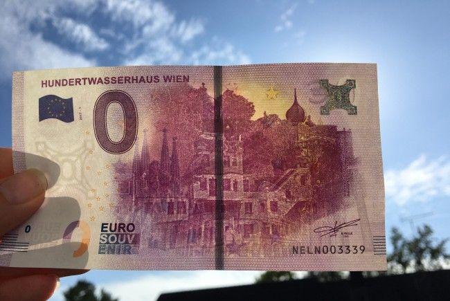 Zwei Euro kostete der Schein, mit dem man sich nichts kaufen kann.