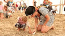 Kinderpiratenfest bei Sand in the City in Wien