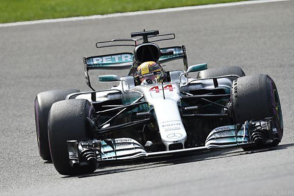 Lewis Hamilton Schnellster in Spa