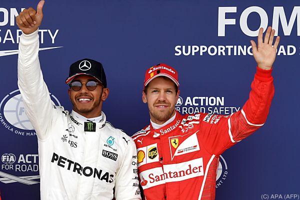 Die Top Zwei freuen sich auf Monza