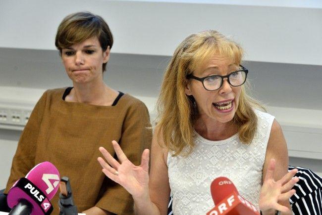 Gesundheitsministerin Pamela Rendi-Wagner und WGKK-Chefin Ingrid Reisch.