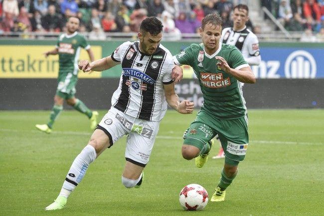 Tabellenführer Sturm Graz feierte in Wien gegen Rapid den fünften Sieg im fünften Spiel.